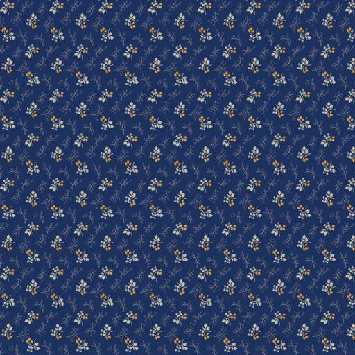 PRF - Cheddar & Indigo - RBC4893 Blue (1 fat quarter only)
