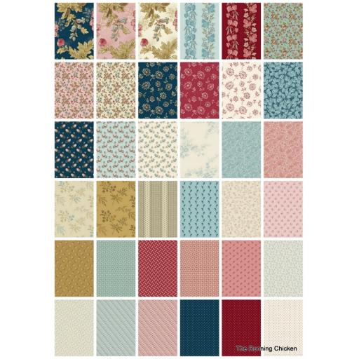 Super Bloom - Fat Quarter Bundle - Edyta Sitar - Andover