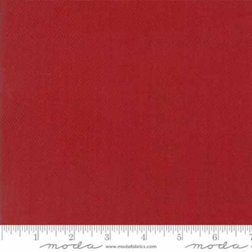 Cottonworks - Solid Red - Moda - 12813-24