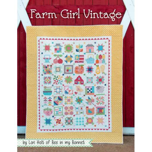 Farm Girl Vintage Book by Lori Holt
