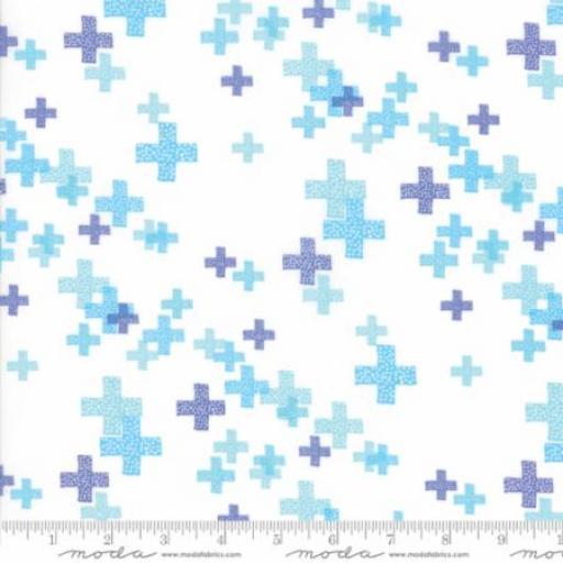 Colorbox - White Periwinkle - 1644-13 - Moda