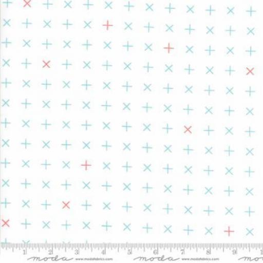 Colorbox - White Bermuda - 1645-11 - Moda