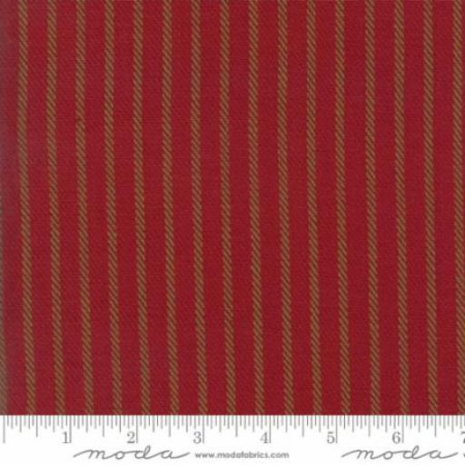 Cottonworks - Stripe Red - Moda - 12813-26