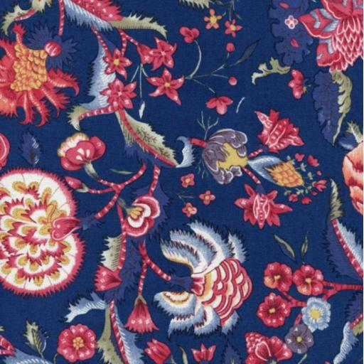 Dutch Heritage - Dutch Chintz - 5000 Navy