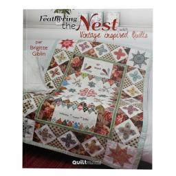Quiltmania Books Feathering the Nest with Vintage inspired Quilts by Brigitte Giblin.jpg