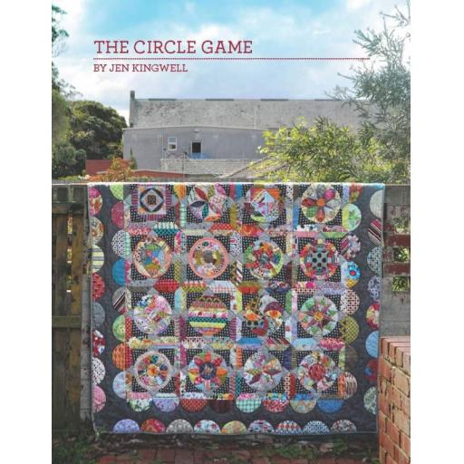 Circle Game Pattern Booklet by Jen Kingwell