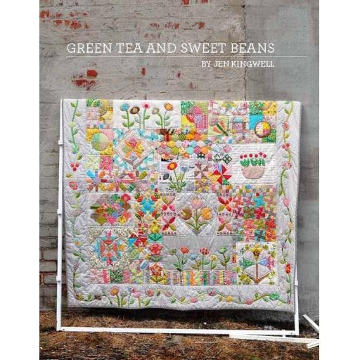 Green Tea & Sweet Beans Pattern Booklet - Jen Kingwell