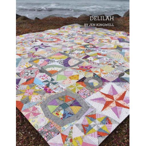 Delilah Pattern Booklet by Jen Kingwell