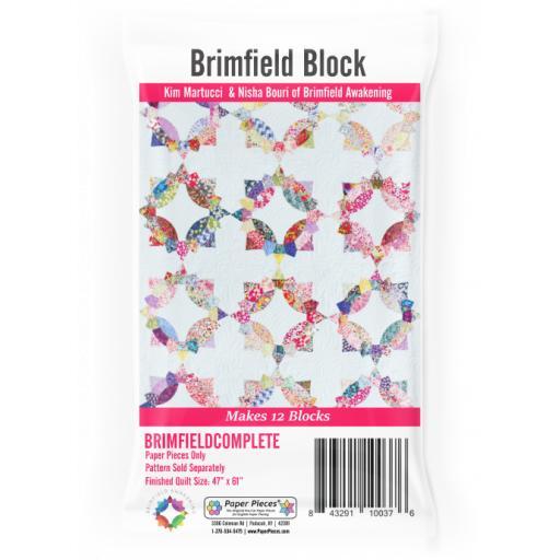 Brimfield Awakening Block - Paper Pieces Set - 12 Blocks