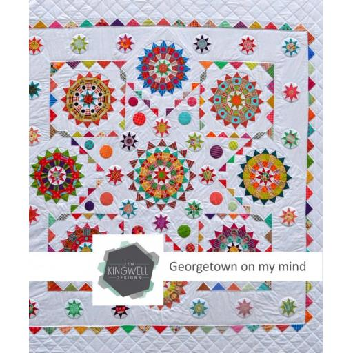 Georgetown on my mind Pattern Book by Jen Kingwell