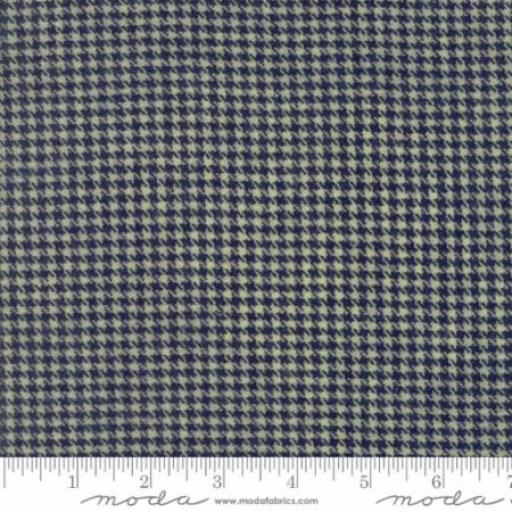 Cottonworks - Houndstooth Navy - Moda - 12813-35