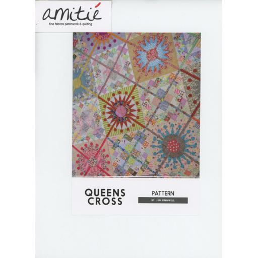Queens Cross Pattern Booklet by Jen Kingwell
