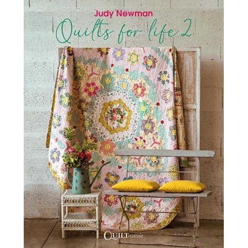 NEW - Quilts For Life 2 - Judy Newman - Quiltmania