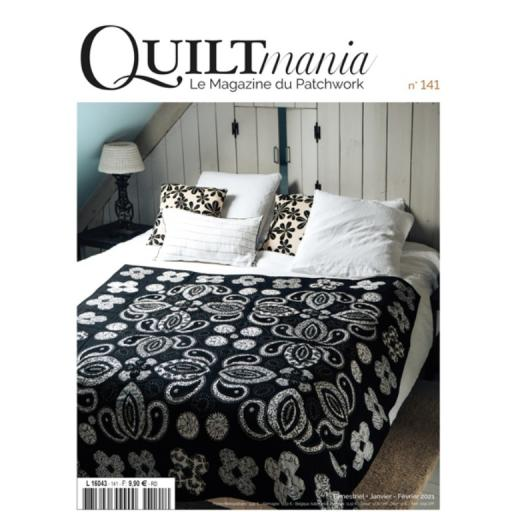Quiltmania Magazine No 141 Jan-Feb 2021