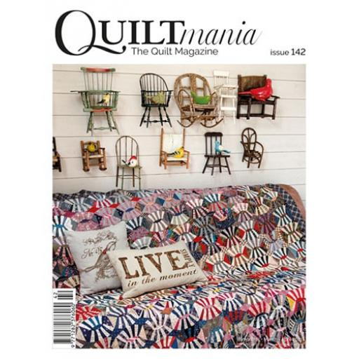 NEW Quiltmania Magazine No 142 March-April 2021
