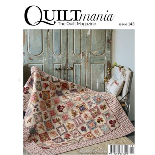 NEW Quiltmania Magazine No 143 May-June 2021