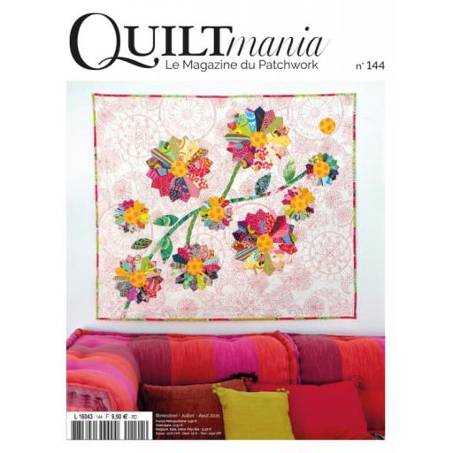 NEW Quiltmania Magazine No 144 July-Aug 2021